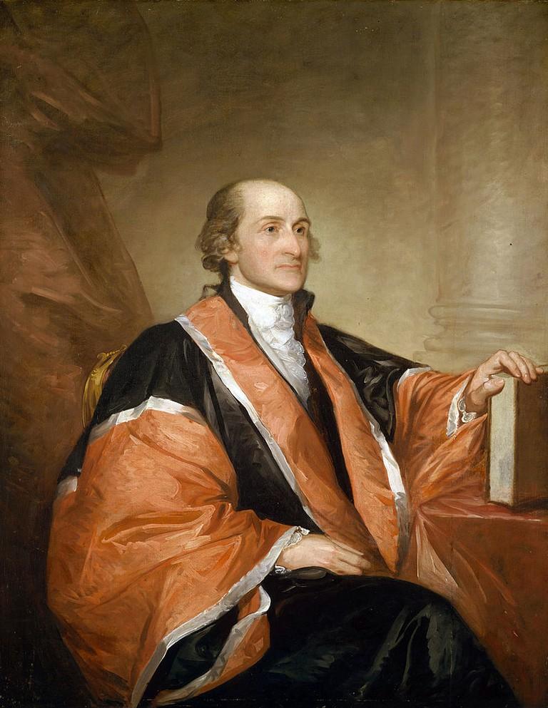 John Jay (Gilbert Stuart portrait)   © The National Gallery of Art/WikiCommons