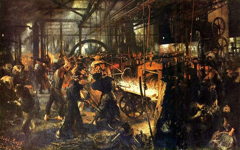 'Iron Rolling Mill' | © Tachymètre (talk | contribs)/WikiCommons
