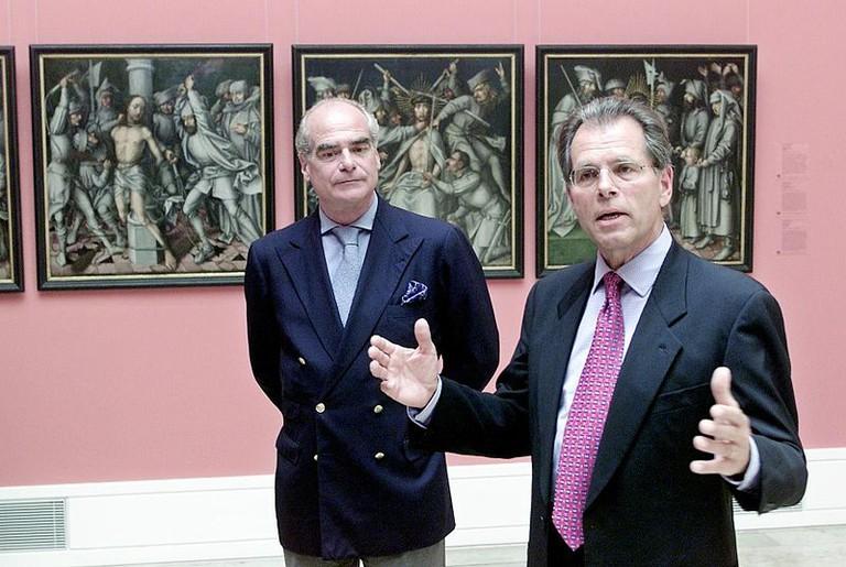 Christian Von Holst (right) | © Foto Michael Steinert-Stuttgarter Zeitung/WikiCommons
