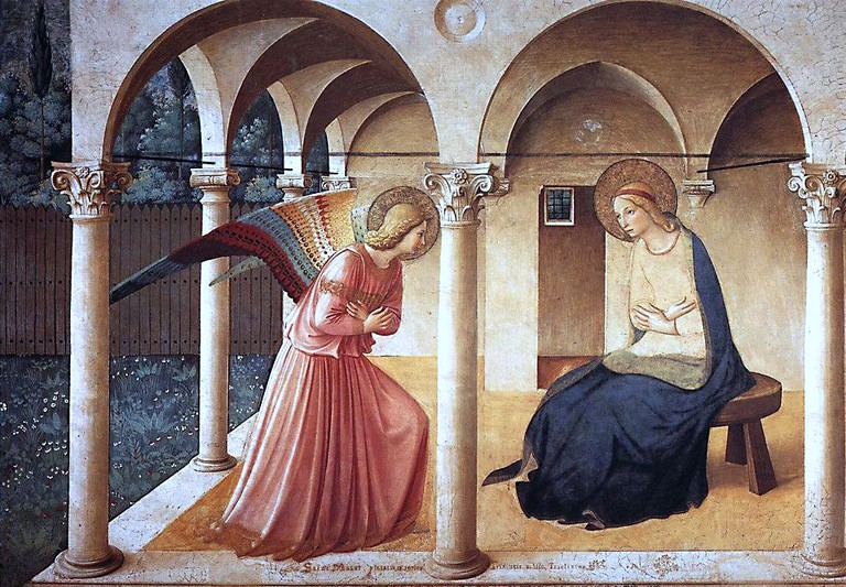 Fra Angelico, The Annunciation, 1437-46 | © carulmare/WikiCommons
