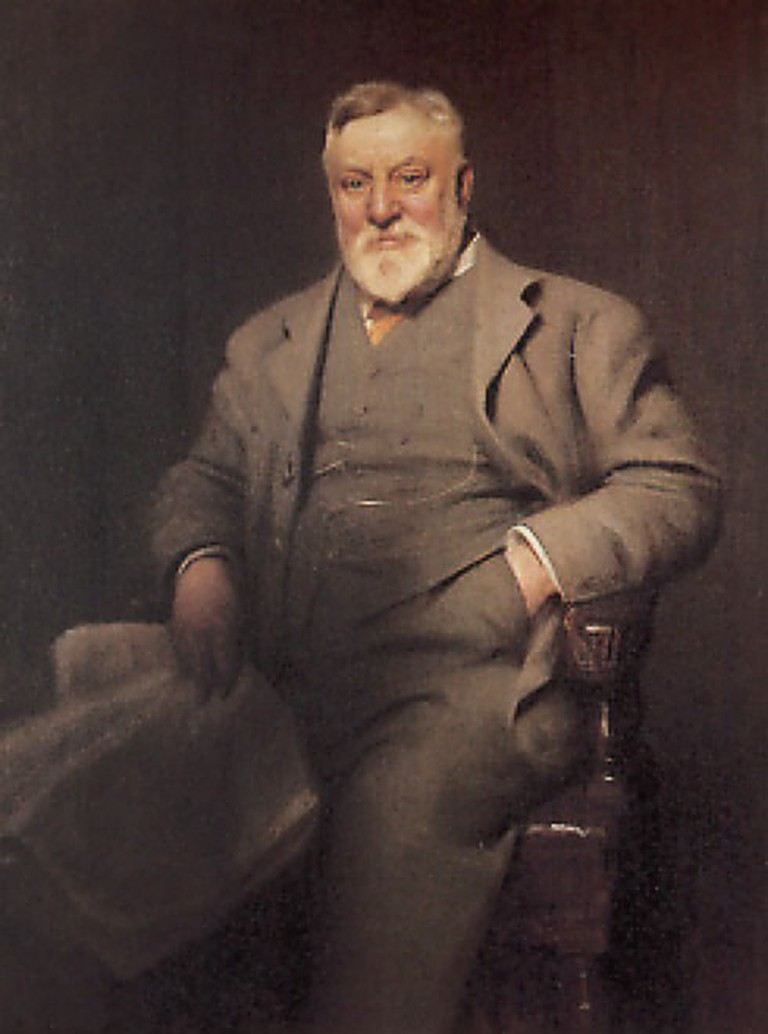 Portrait of Arthur Lasenby Liberty Wikicommons