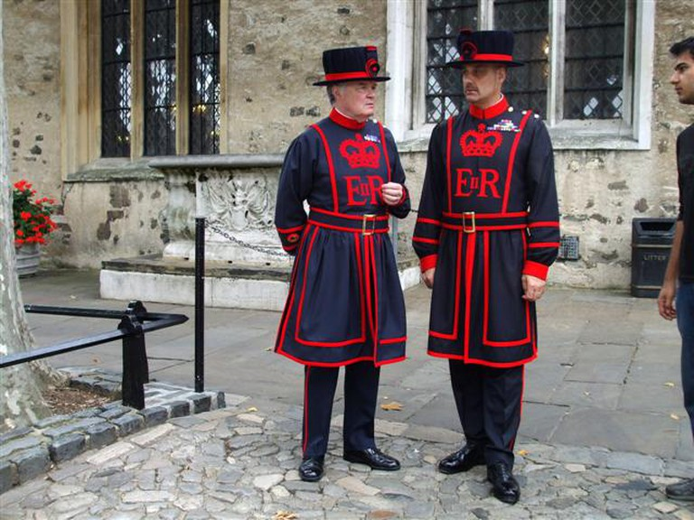 Beefeaters in their 'undress' uniform.   © Kenneth Allen/Geograph.org