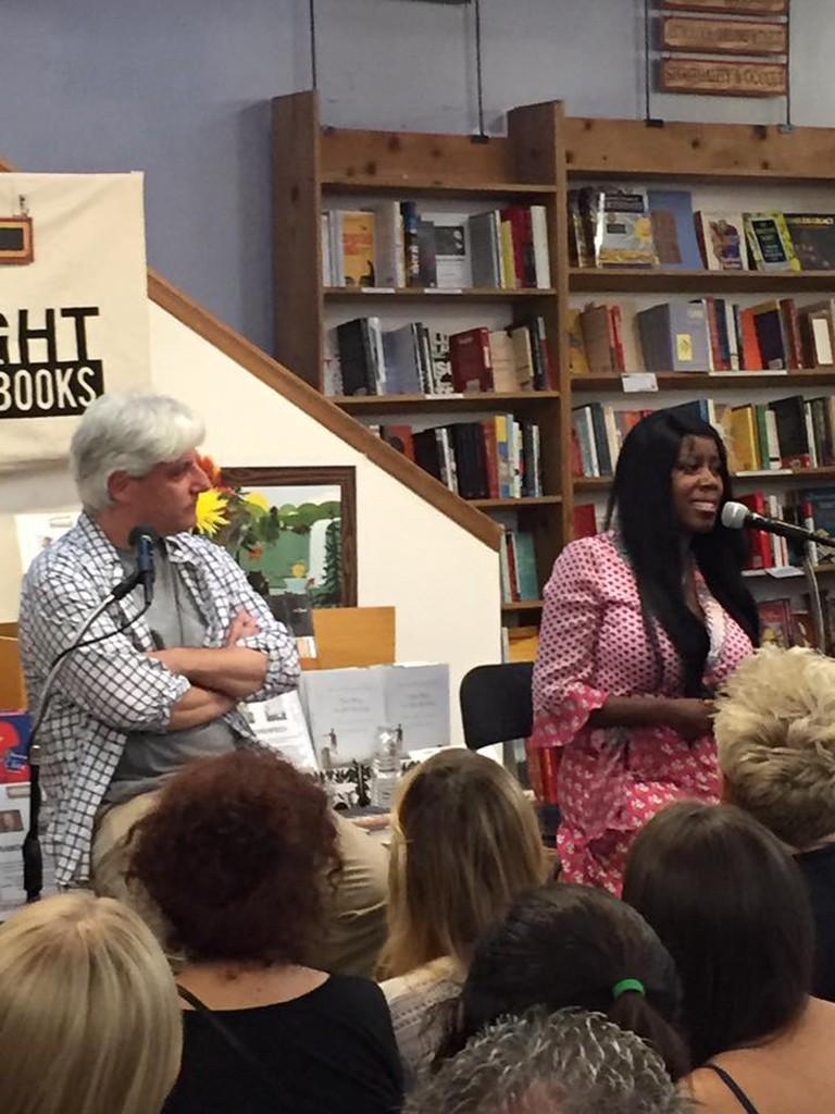 Authors David Ulin and Natashia Deon at Skylight Books