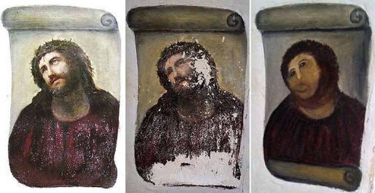 Ecce Homo restoration   © cea + / WikiCommons