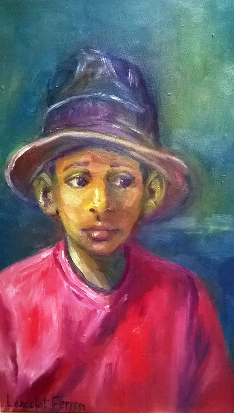 Boy in Red Shirt|Courtesy of Creative Framing & Art Gallery
