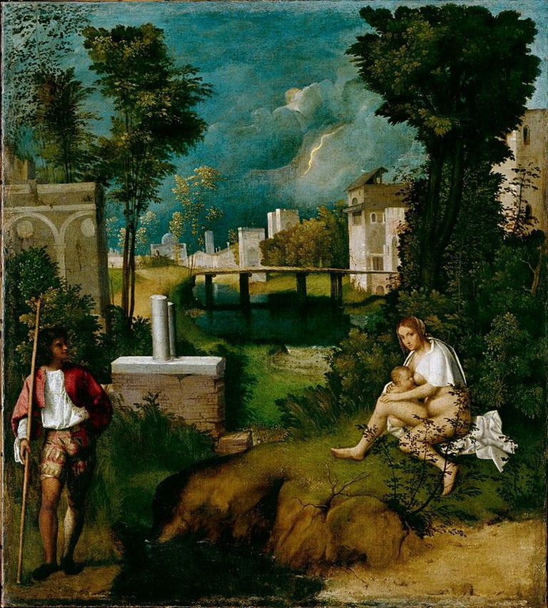 Giorgione, The Tempest, 1506-08 | © Academia of Venice/WikiCommons