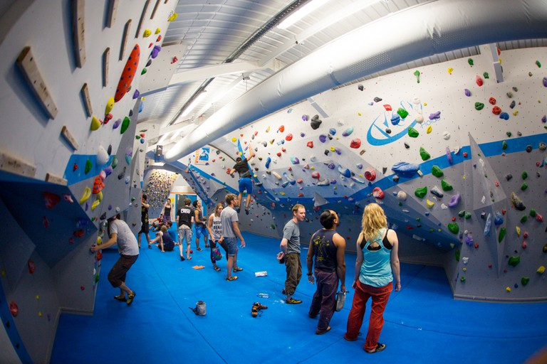 Image courtesy of Vauxwall Climbing Centre
