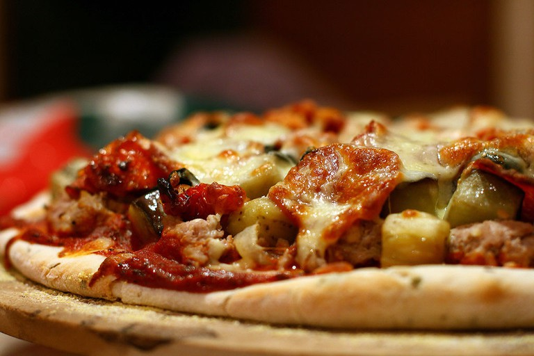 Oven-cooked pizza |© Bolte911/WikiCommons