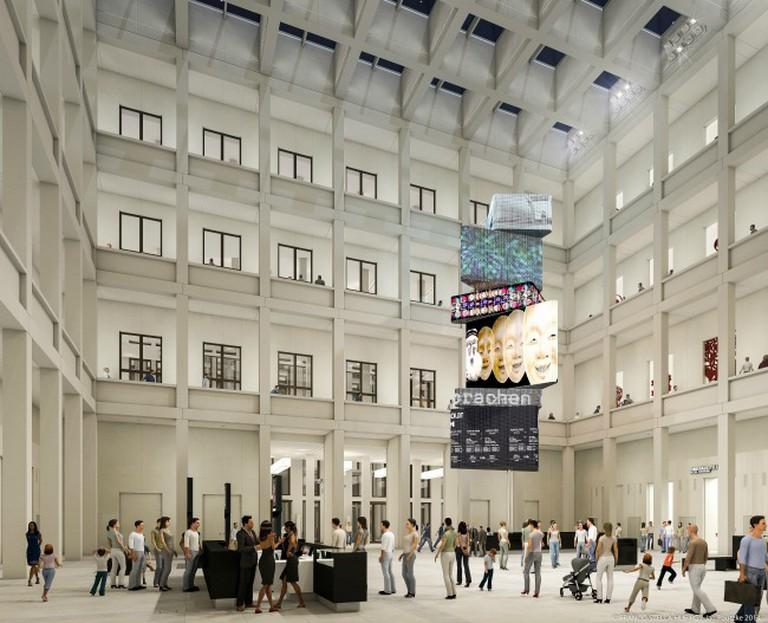 © Stiftung Berliner Schloss - Humboldt Forum / Architect: Franco Stella with FS HUF PG