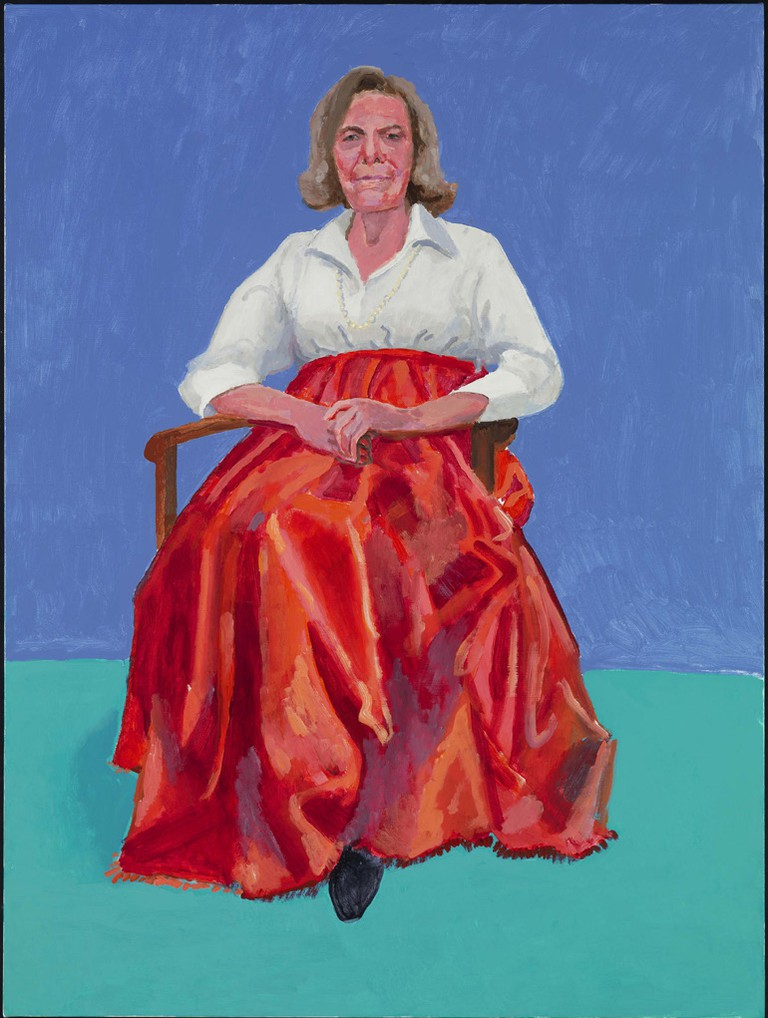 Rita Pynoos - David Hockney, 1st, 2nd March 2014, photography by Richard Schmidt|©David Hockney/Royal Academy