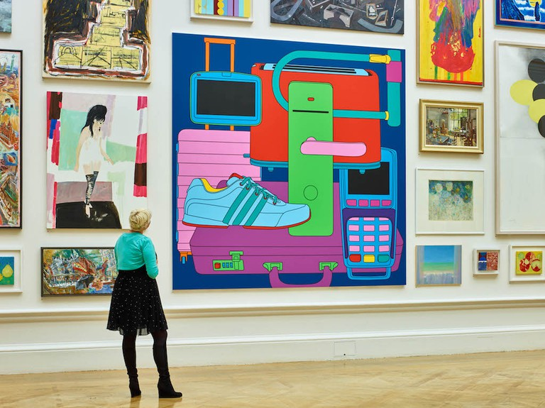Michael Craig-Martin at The Royal Academy © Stephen White
