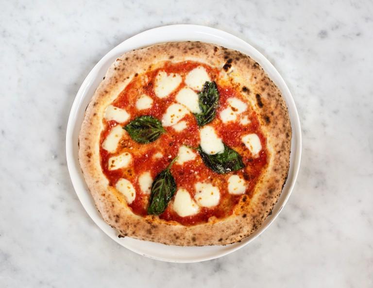 Pizza margarita. Credit: MidiCi