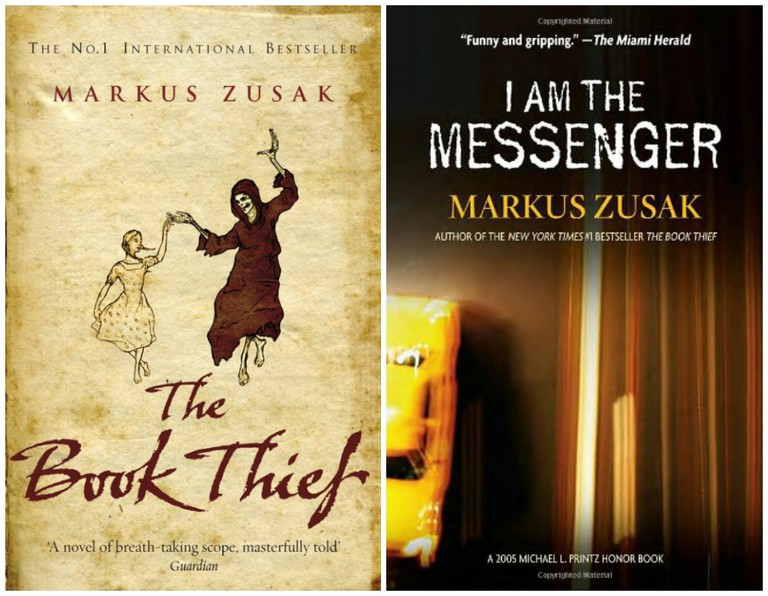 The Book Thief | © Black Swan // I Am The Messenger | © Random House USA Children's Books