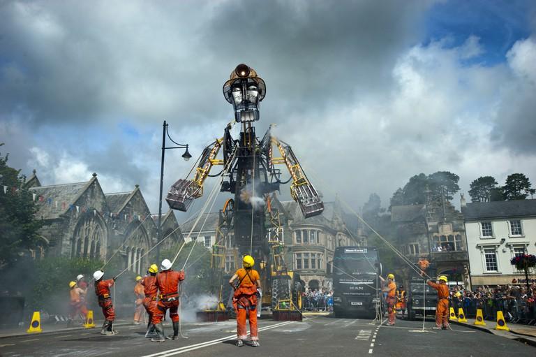 The Man Engine in Tavistock| ©Mike Thomas/Excess Energy