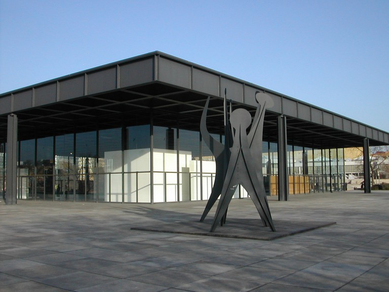 Neue Nationalgalerie   © User:Harald Kliems/WikiCommons