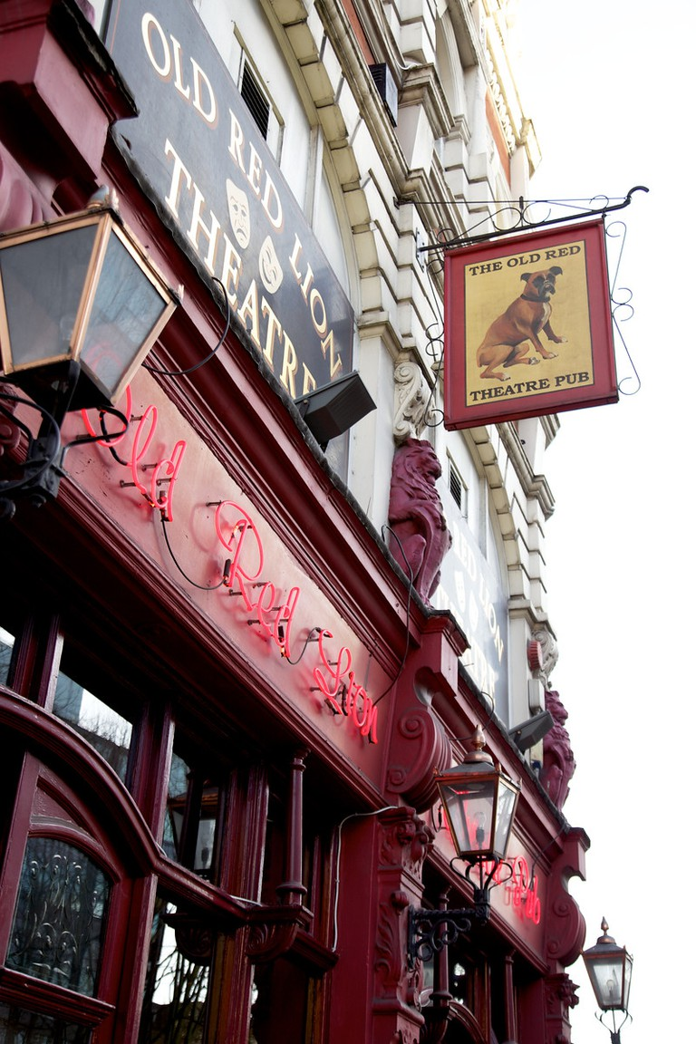 Image courtesy of The Old Red Lion
