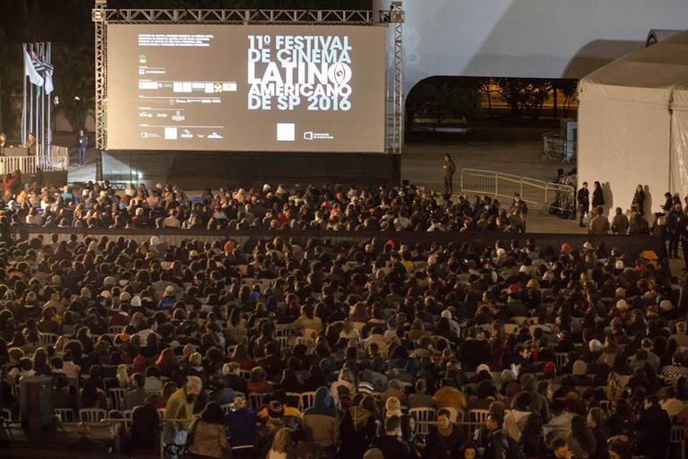 Opening night at the Latin America Film Festival of São Paulo   courtesy of Festival de Cinema Latino-Americano de São Paulo