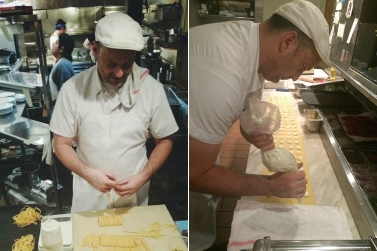 Pasta prep at Sotto (credit: Sotto)