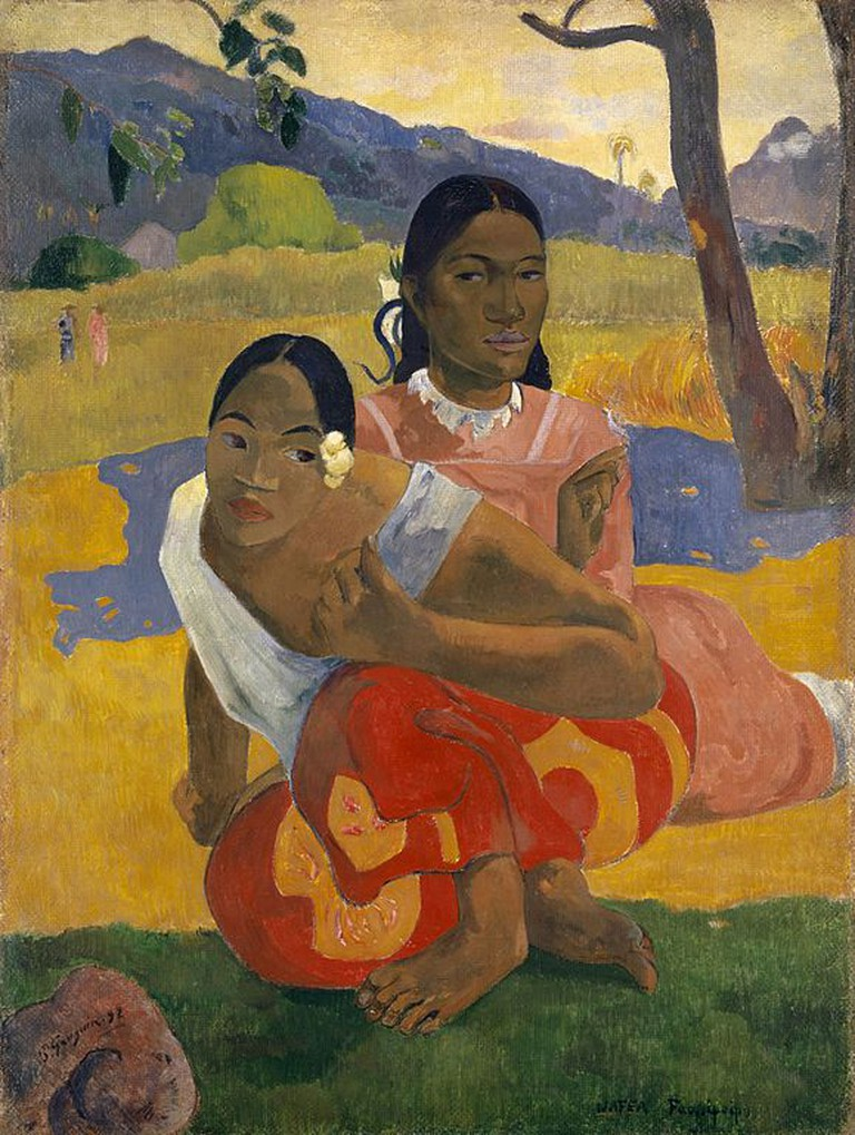 Paul Gauguin, Nafea Faa Ipoipo (When Will You Marry?), 1892 | © Private Collection/WikiCommons