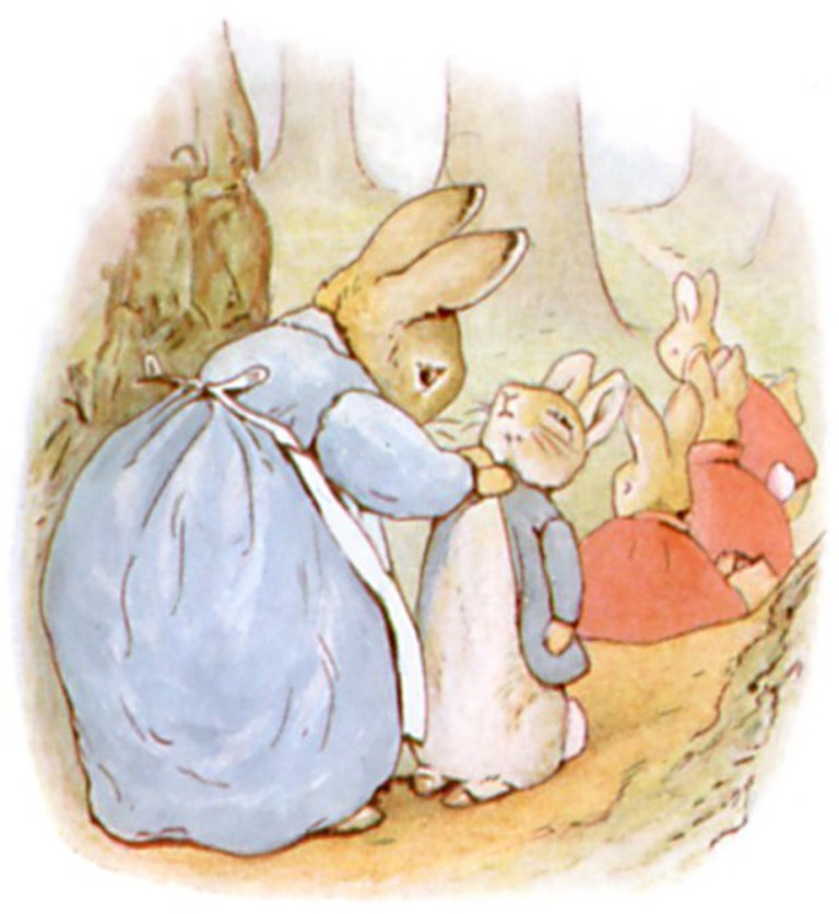 Illustrations from The Tale of Peter Rabbit | © Innotata / WikiCommons