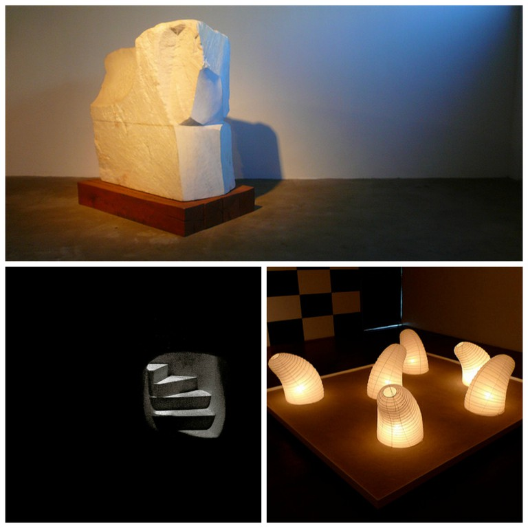 P1160177 | © Suzanne LaGasa/Flickr / Deep Down to the Abyss | © Guian Bolisay/Flickr / Akari Light Sculpture | © Chun-Hung Eric Cheng/Flickr