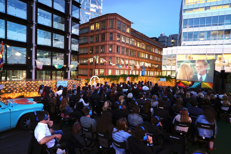 Rooftop Film Club, Queen of Hoxton | Courtesy of Rooftop Film Club