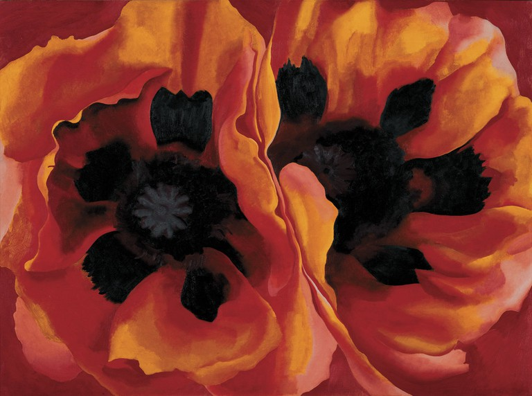 Oriental Poppies 192, Georgia O'Keeffe Frederick R. Weisman Art Museum at the University of Minnesota, Minneapolis|© 2016 Georgia O'Keeffe Museum/ DACS, London.