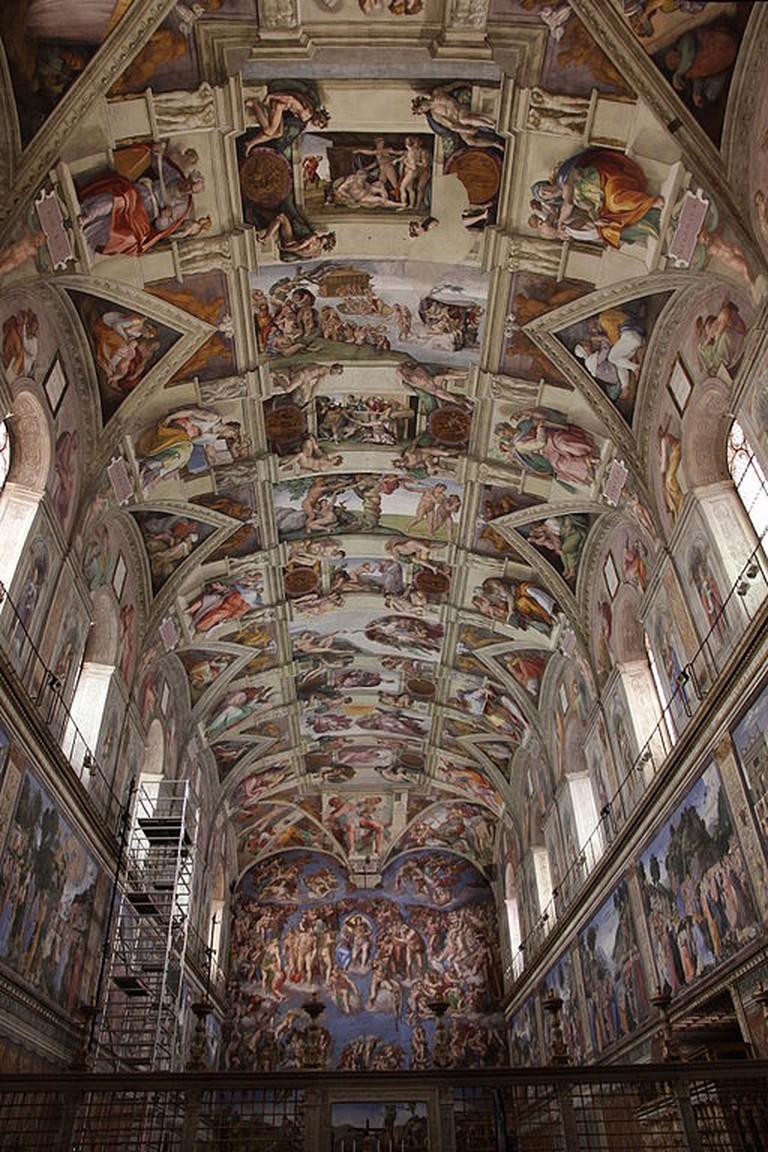 Michelangelo, Sistine Chapel Ceiling, 1508-12 | © Jörg Bittner Unna/WikiCommons