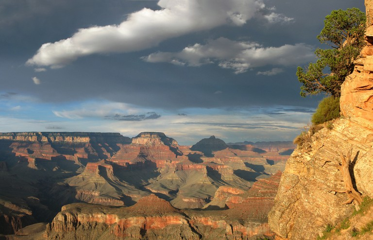 South Kaibab Trail after thunderstorm / © Grand Canyon NPS / Flickr