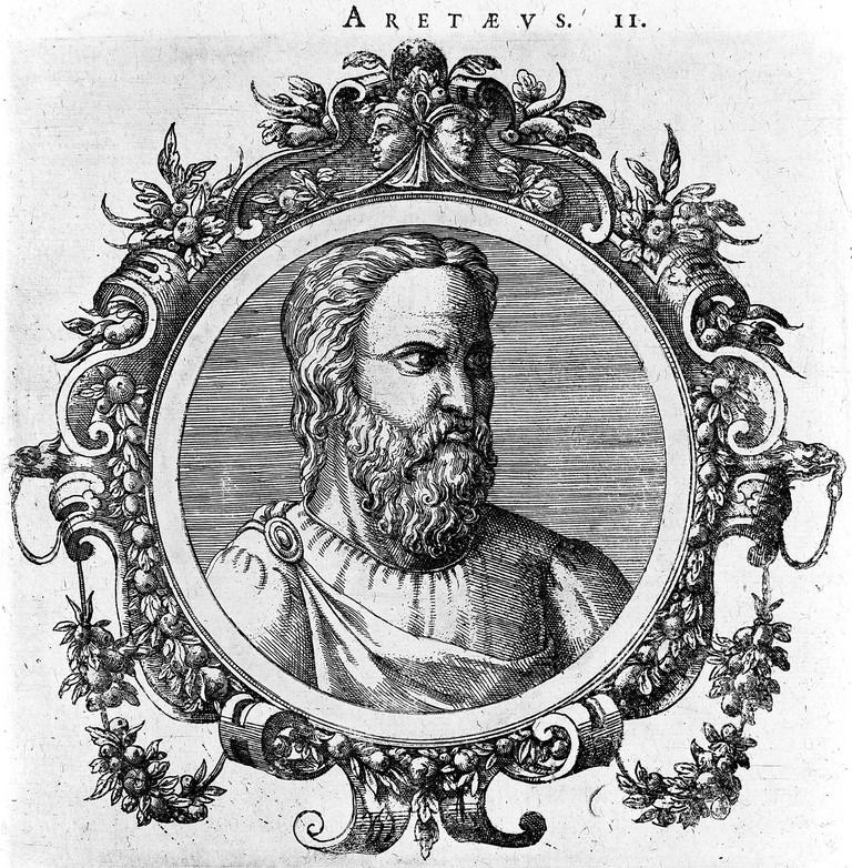 Portrait of Aretaeus of Cappadocia
