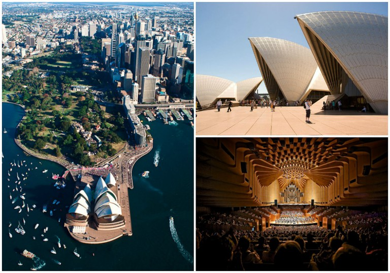 Sydney Opera House | © Tanya PW / Flickr // © Rtype909 / WikiCommons // © Jason James / Flickr