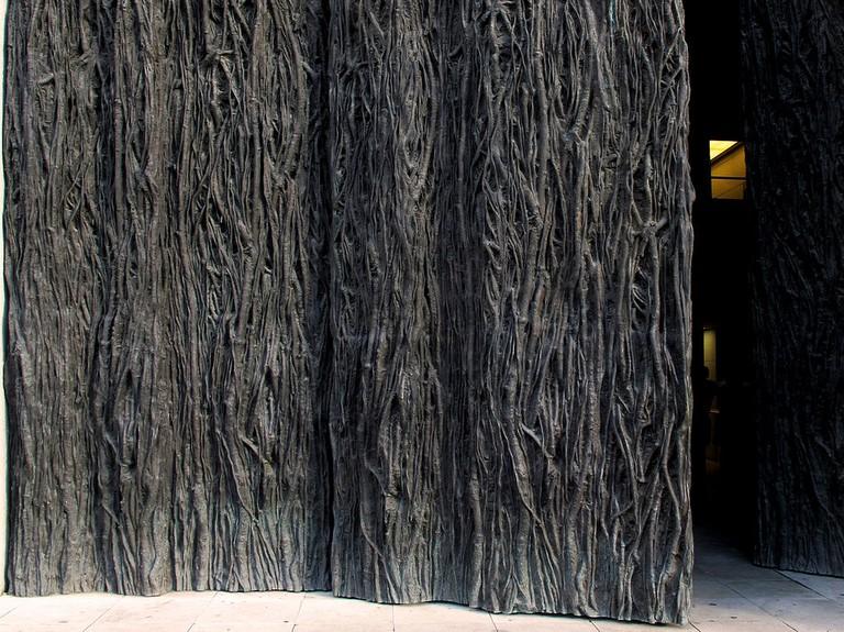 Detail of the doors of the Prado i Madrid by Cristina Iglesias | © jacinta lluch valero / WikiCommons