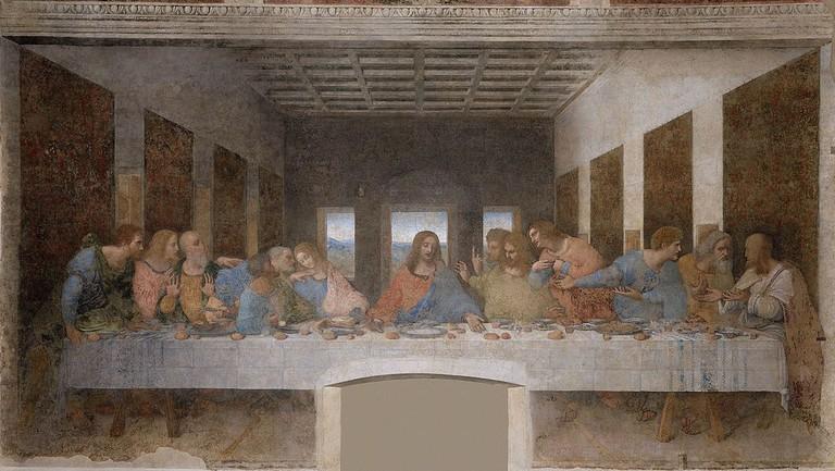 Leonardo da Vinci, The Last Supper, 1495-98 | © Convent of Santa Maria delle Grazie, Milan/WikiCommons