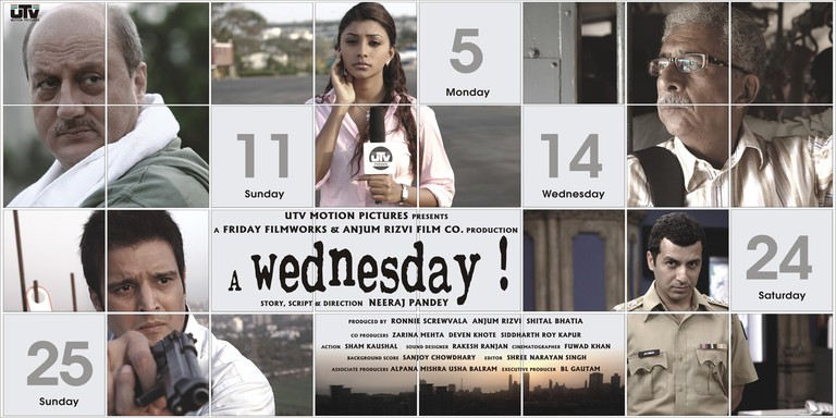 A Wednesday | © Ronnie Screwvala, Anjum Rizvi, Shital Bhatia