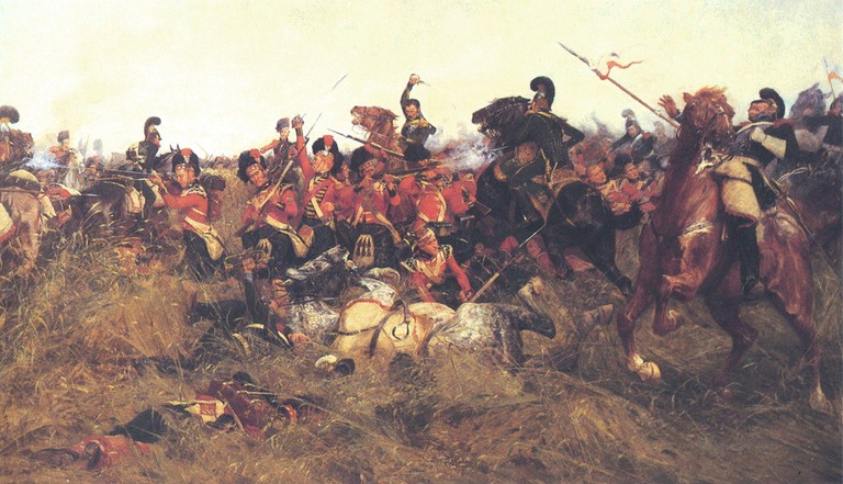 Wollen, Battle of Quatre Bras   © WikiCommons