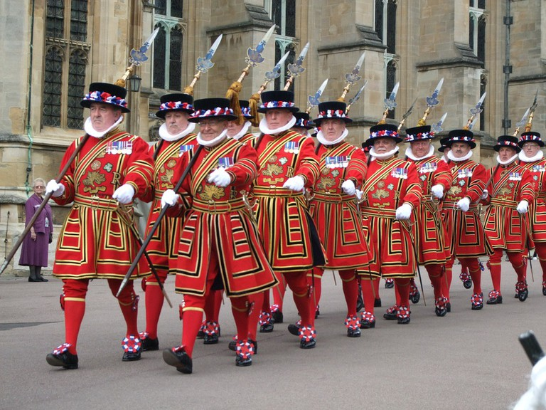 Members of the Yeoman Guard, known as 'Beefeaters'   ©Skeeze/Pixabay