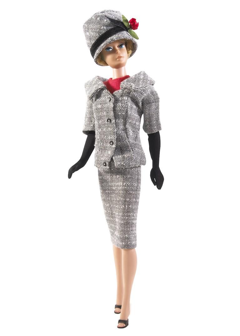 Career Girl Barbie, 1963, courtesy of Mattel