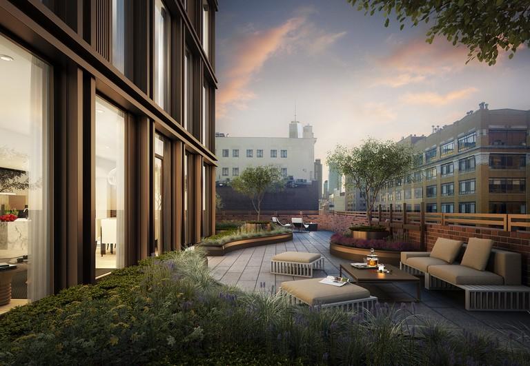 📷 100 Barrow Duplex Terrace, Toll Brothers Living