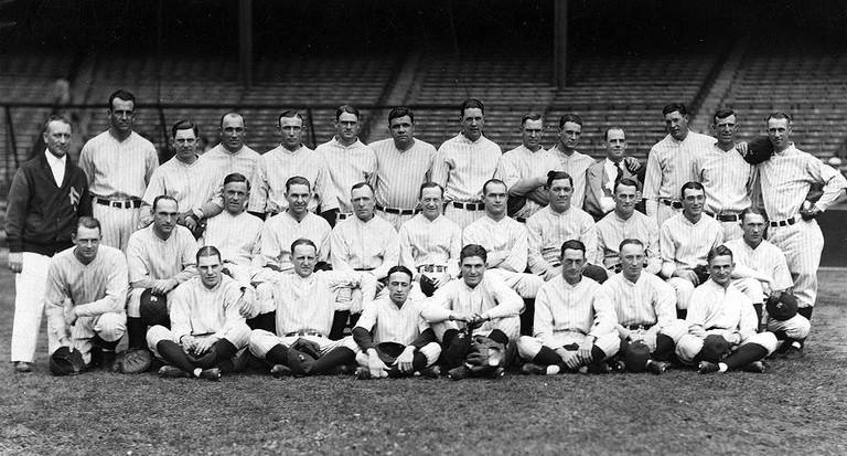 The 1926 lineup for The New York Yankees | © Bain News Service / Wikipedia Commons