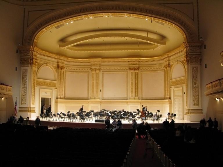Carnegie Hall Isaac Stern   © Woltone