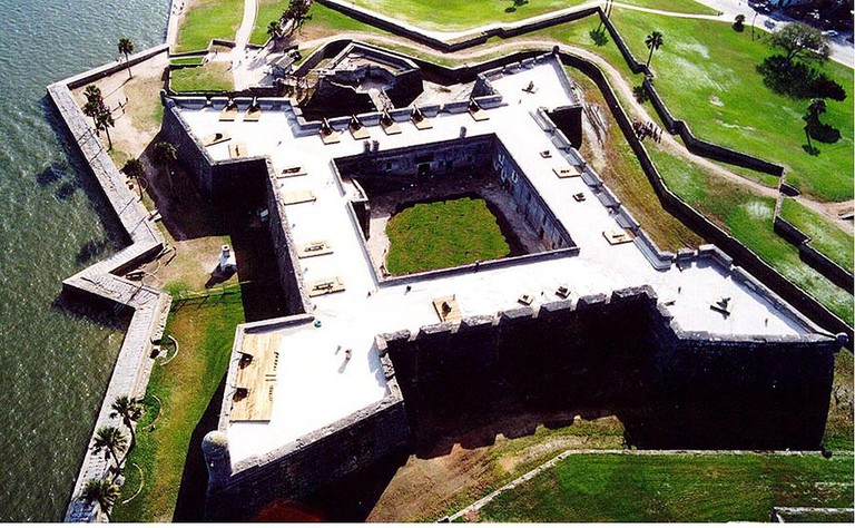 Castillo de San Marcos   Public Domain/Wikicommons