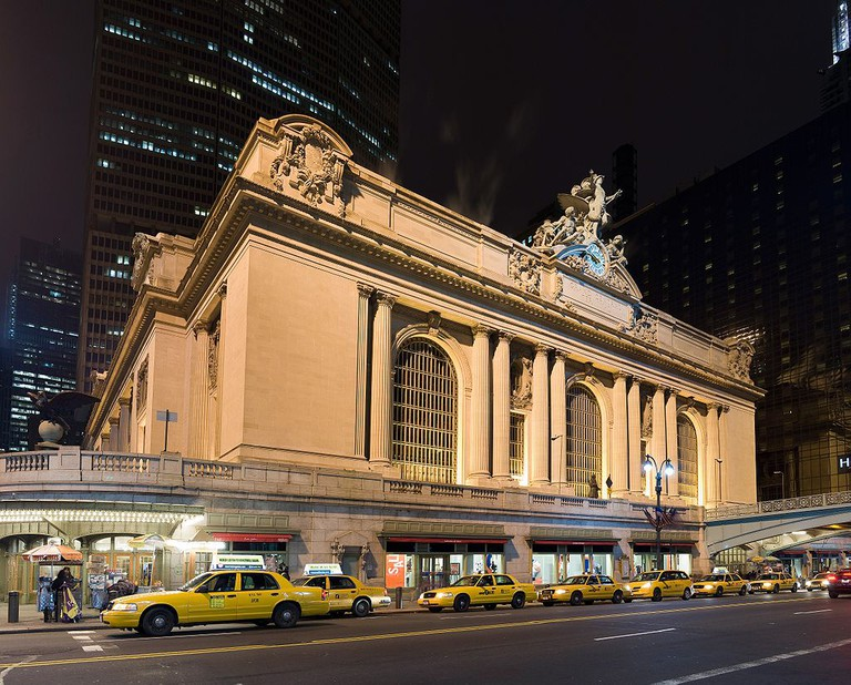 Grand Central Station at Night | © Eric Baetscher
