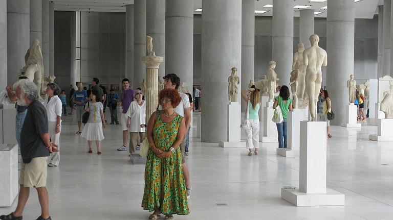 Archaic Gallery| © Tilemahos Efthimiadis/WikiCommons