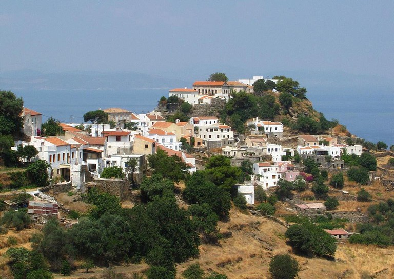 View over Ioulida, Kea | © Alexander Pappas/WikiCommons