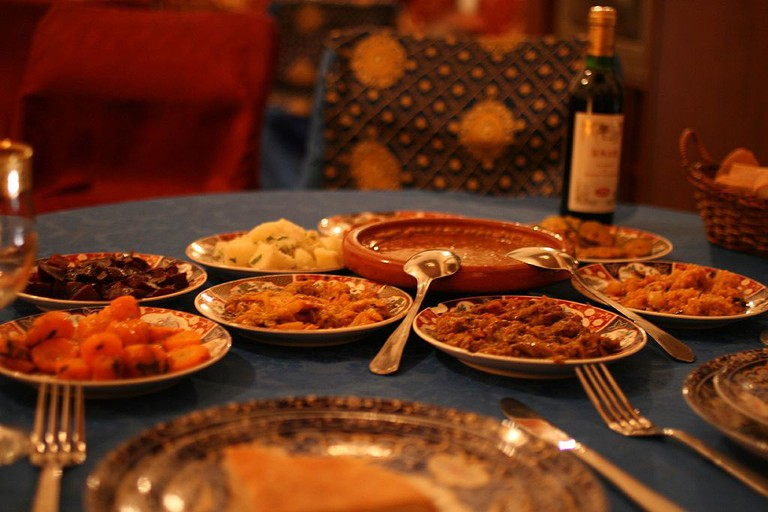 Moroccan food |©Flickr upload bot/WikiCommons