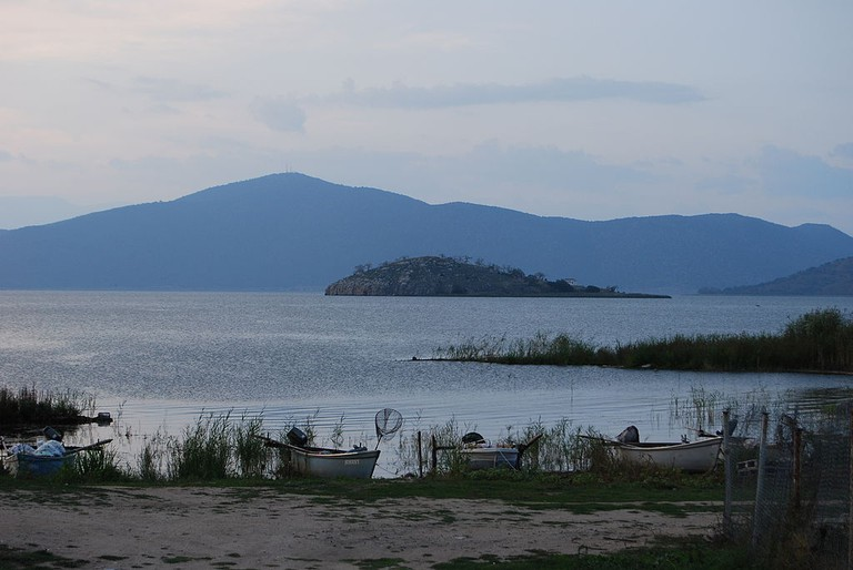 Island of St. Ahil from the small Prespa Lake| © Todor Georgiev/WikiCommons