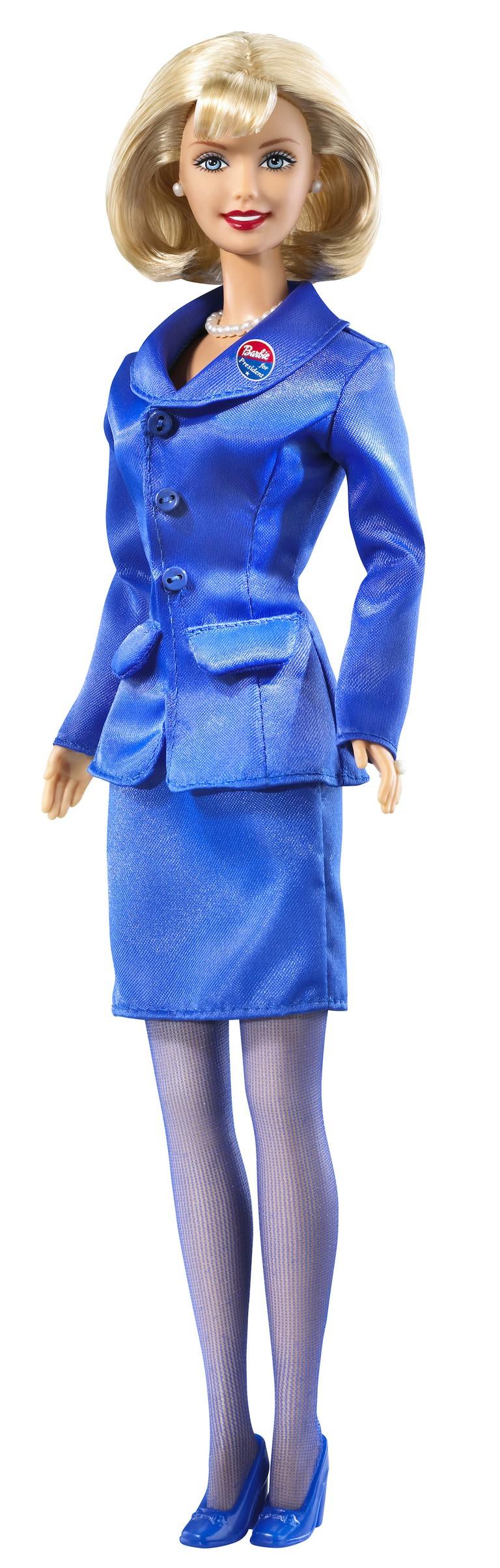 Barbie for President, 1992 courtesy of Mattel