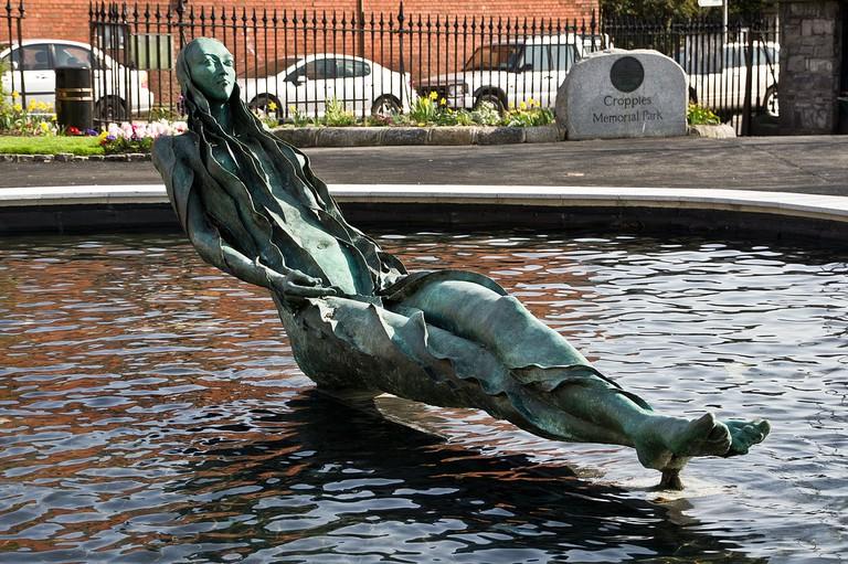 Anna Livie statue by Éamonn O'Doherty | © William Murphy/WikiCommons