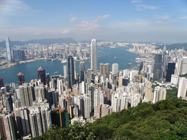 Hong Kong Island north coast | ©Exploringlife/WikiCommons