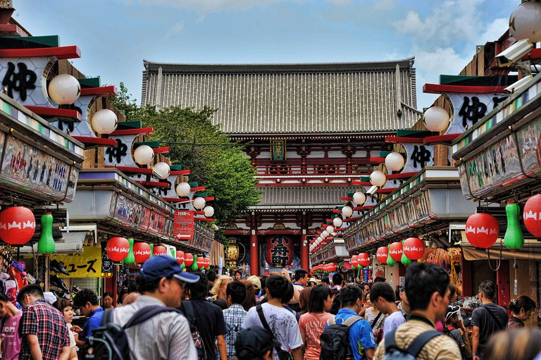 The road to Senso-ji | © Chensiyuan/WikiCommons